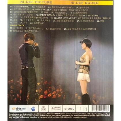 BLURAY Chinese Concert 周慧敏演唱会 Deep V 25 2011 Live & Karaoke