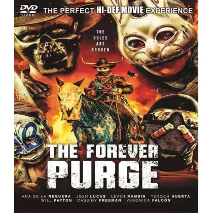 DVD English Movie The Forever Purge
