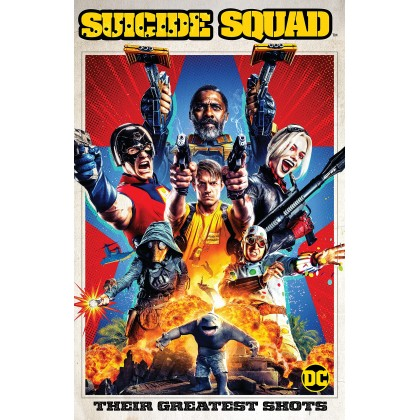 DVD English Movie The Suicide Squad 2021