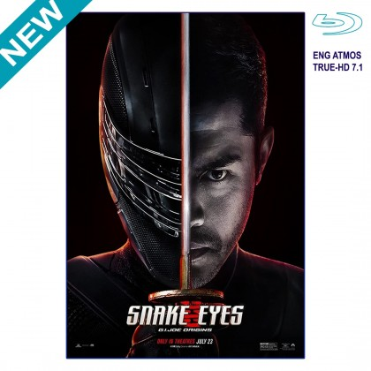 BLURAY English Movie Snake Eyes G.I Joe Origins